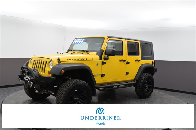 Pre-Owned 2008 Jeep Wrangler Unlimited Rubicon