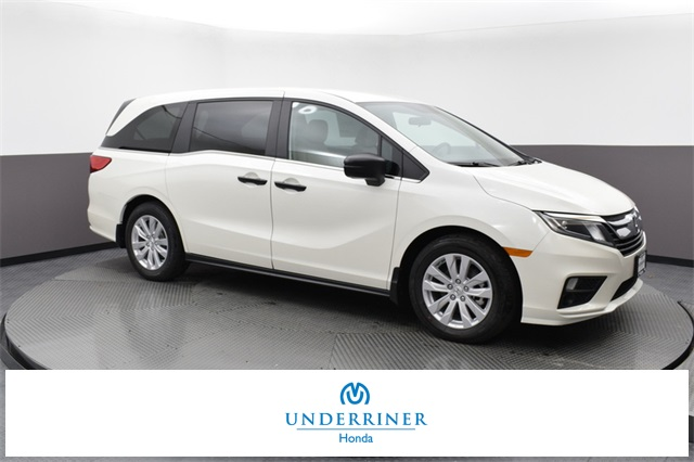 New 2019 Honda Odyssey Lx 4d Passenger Van In Billings Hkb038521